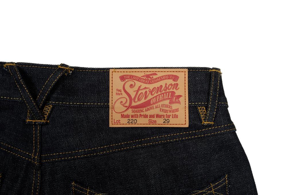 Stevenson 220 Carmel Jeans - Straight Tapered - Image 7