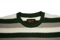 Stevenson Endless Drop Summer Knit Shirt - Green/Gray - Image 4