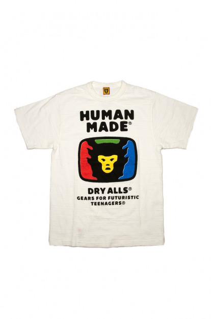Human Made Slub Cotton T-Shirt - RGB TeeVee