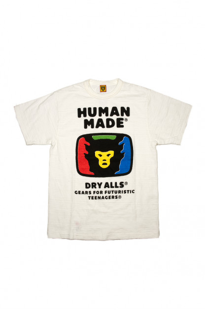 Human Made Slub Cotton T-Shirt - RGB TeeVee