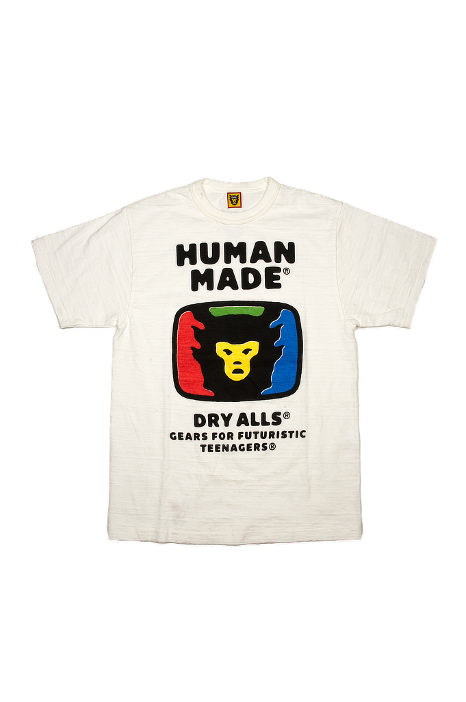 Human Made Slub Cotton T-Shirt - RGB TeeVee - Image 0