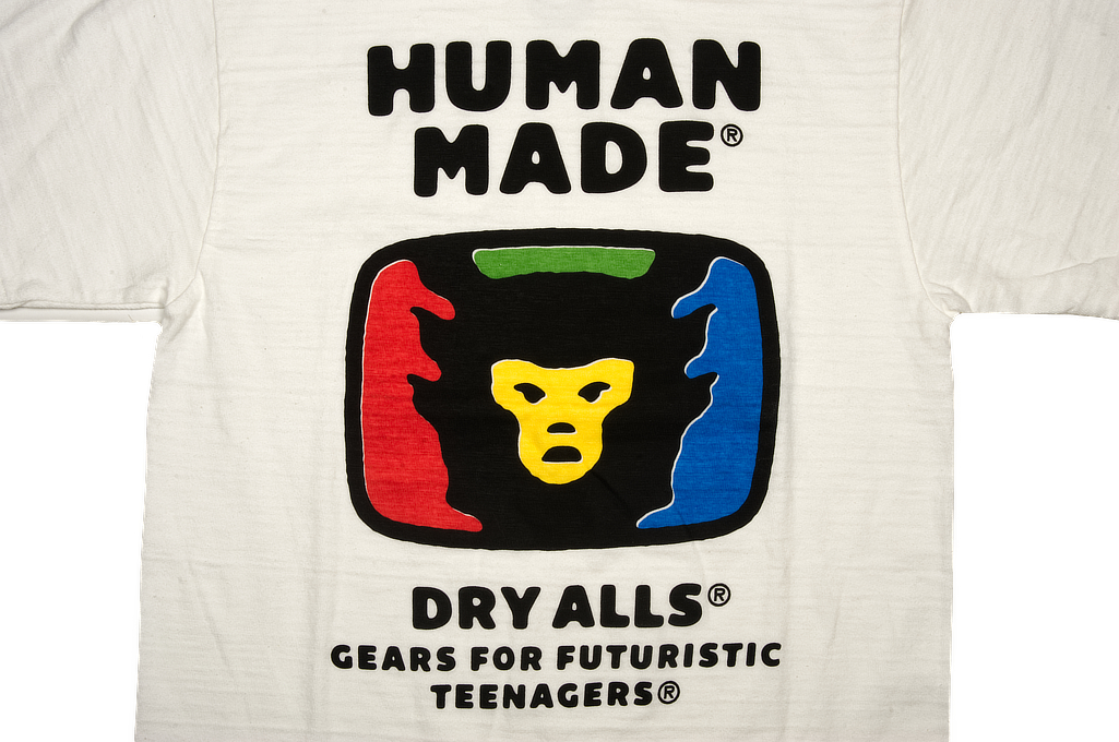 Human Made Slub Cotton T-Shirt - RGB TeeVee - Image 2
