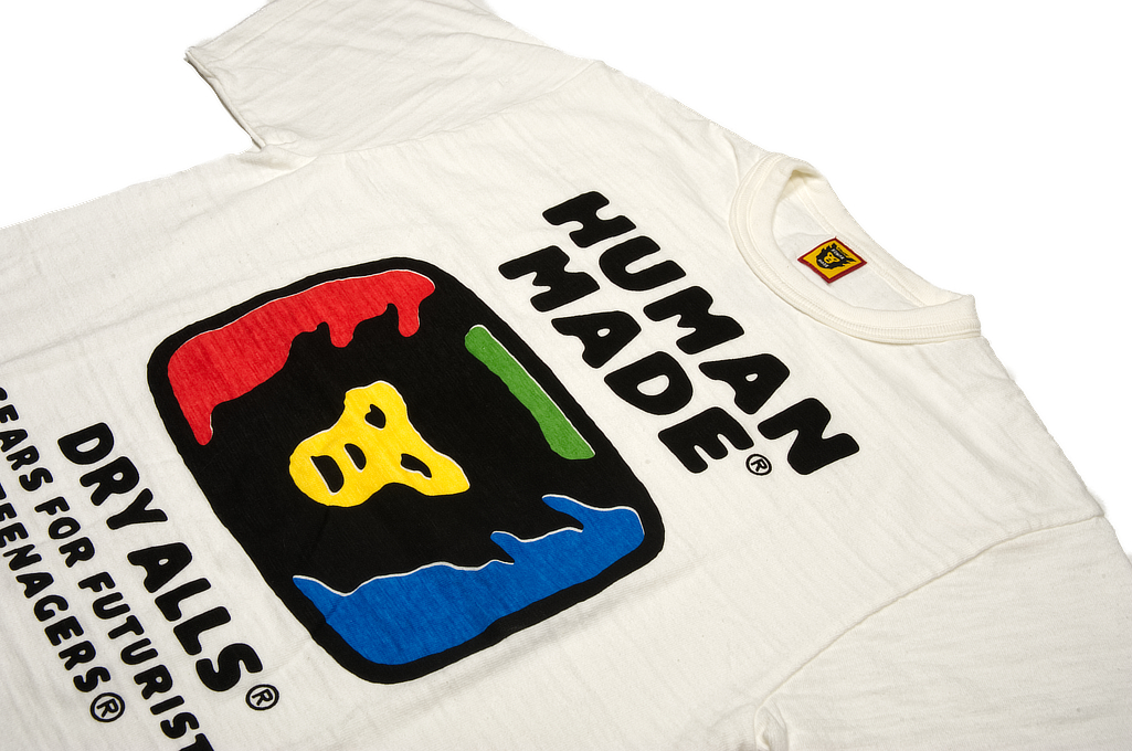 Human Made Slub Cotton T-Shirt - RGB TeeVee - Image 3