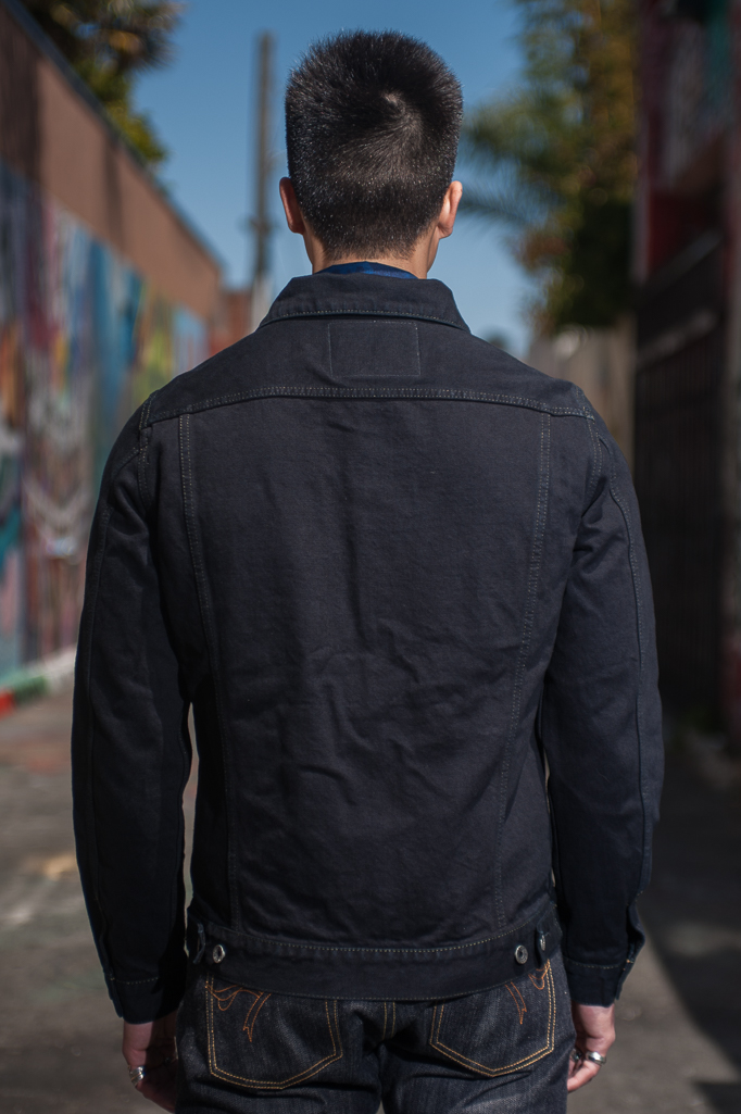 Iron Heart Overdyed Modified Type III Jacket - 14oz Denim - Image 1