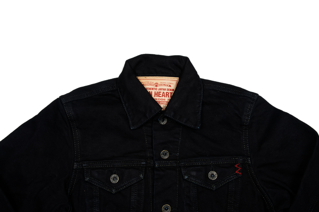 Iron Heart Overdyed Modified Type III Jacket - 14oz Denim - Image 3