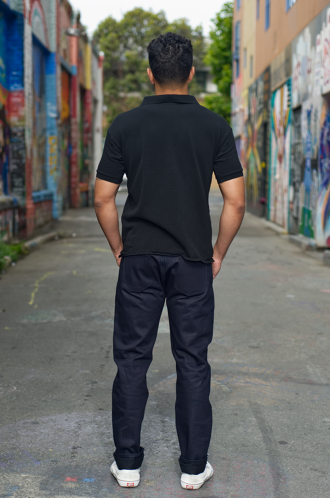 3sixteen CT-120x Jean - Classic Tapered Shadow Selvedge - Image 1