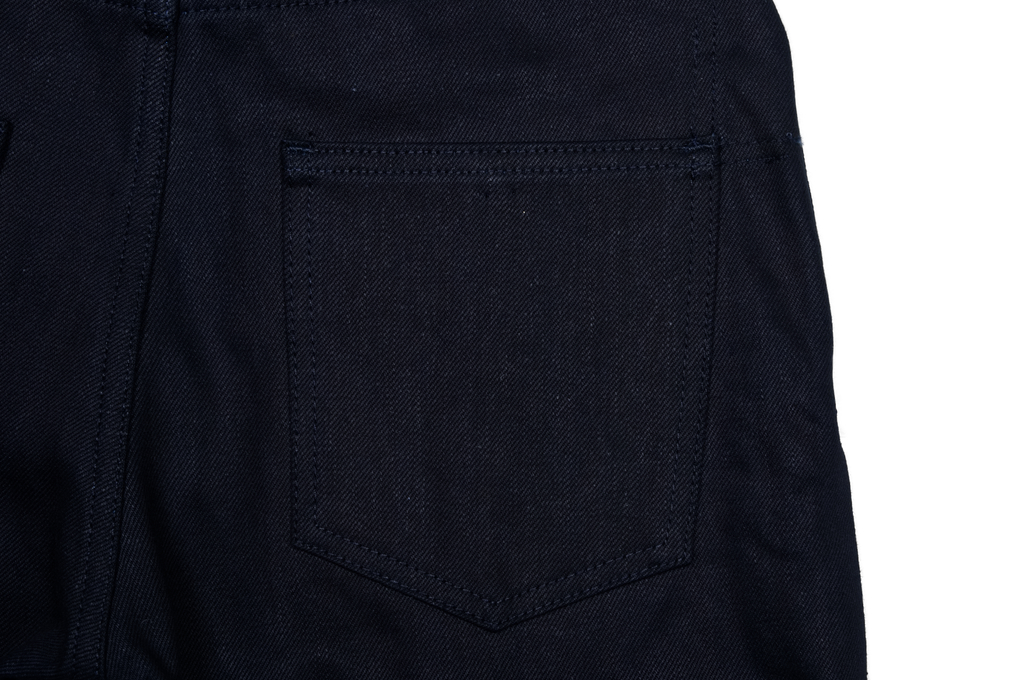 3sixteen CT-120x Jean - Classic Tapered Shadow Selvedge - Image 5