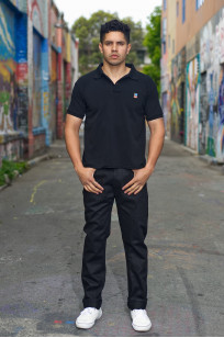 3sixteen CT-220x Jean - Classic Tapered Double Black - Image 0
