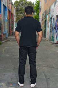 3sixteen CT-220x Jean - Classic Tapered Double Black - Image 1