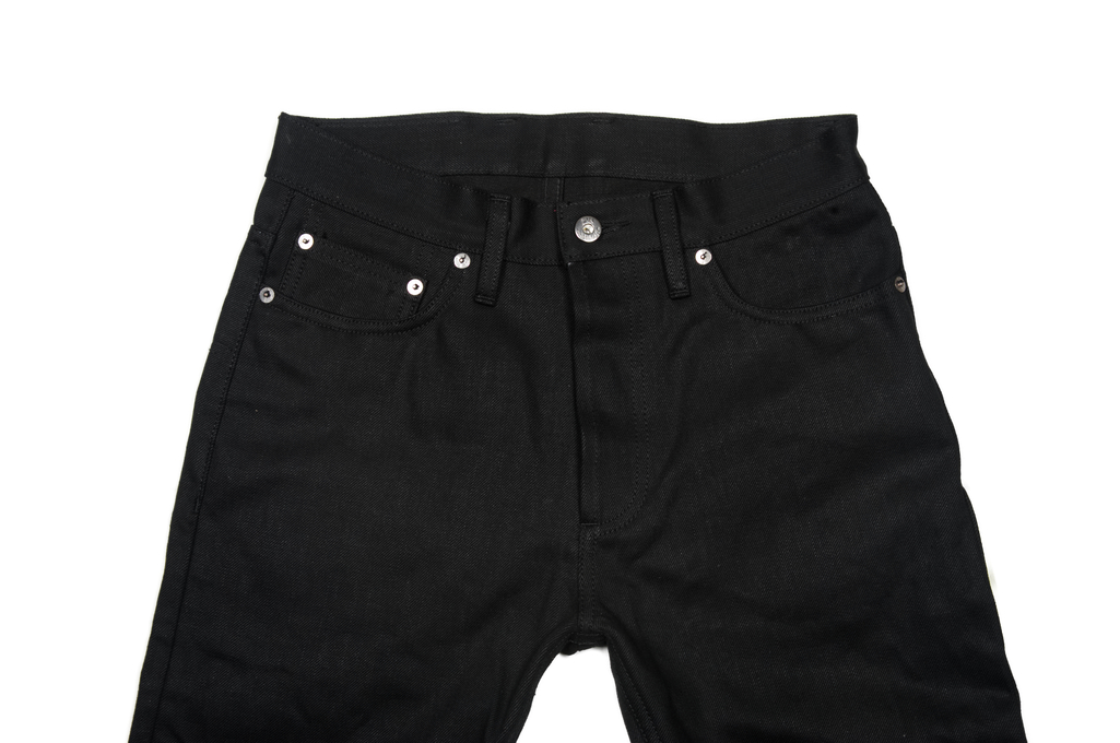 3sixteen CT-220x Jean - Classic Tapered Double Black - Image 2