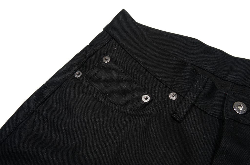 3sixteen CT-220x Jean - Classic Tapered Double Black - Image 3