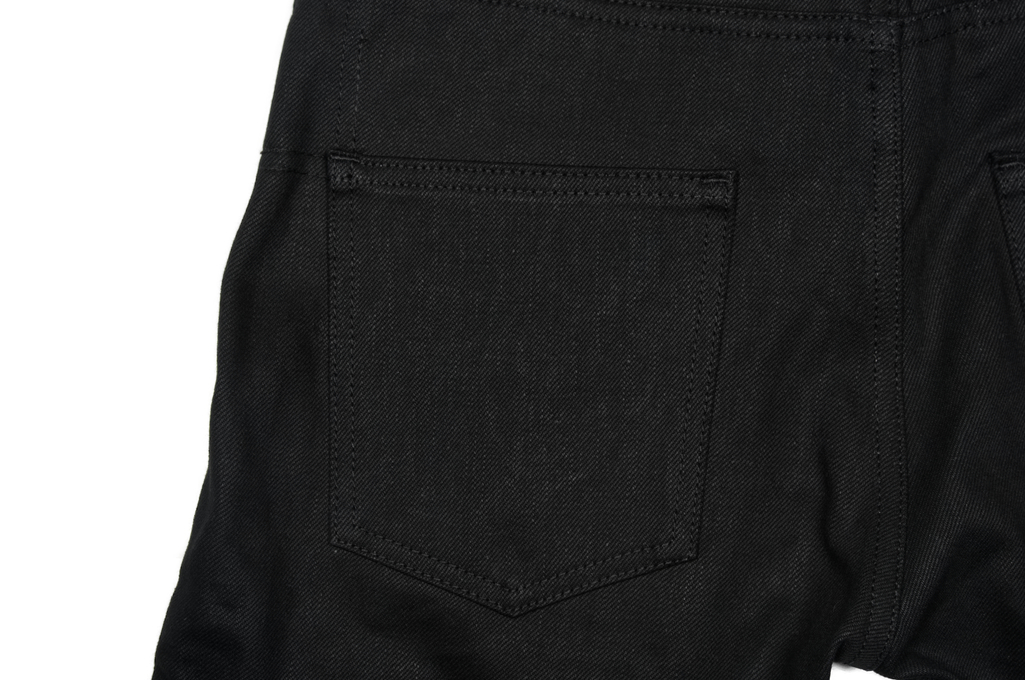 3sixteen CT-220x Jean - Classic Tapered Double Black - Image 5