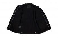 Pure Blue Japan Type III Denim Jacket - 18oz Indigo/Black - Image 8