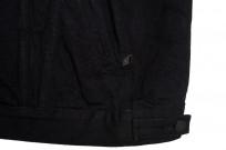 Pure Blue Japan Type III Denim Jacket - 18oz Indigo/Black - Image 10