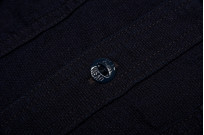 Flat Head Glory Park Indigo-Dyed Linen Shirt - Long Sleeve - Image 8