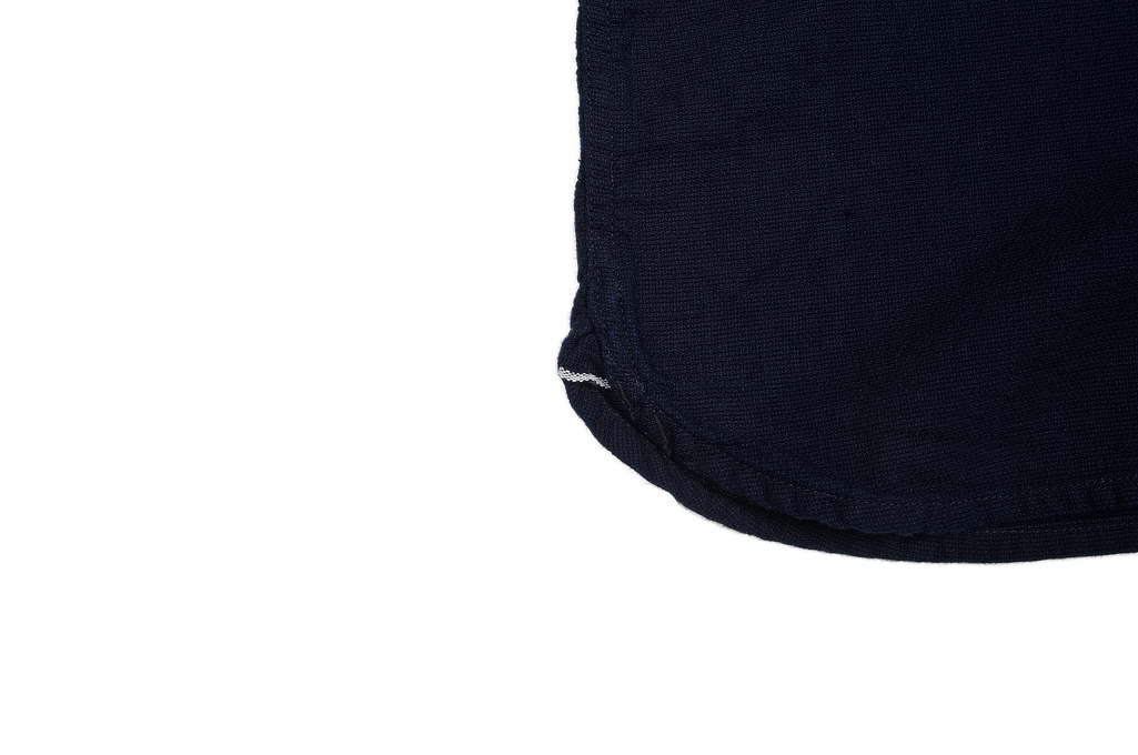 Flat Head Glory Park Indigo-Dyed Linen Short Sleeve - Image 6