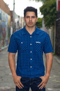 Flat Head Weezy Breezy Shirt - Indigo Linen/Cotton - Image 0