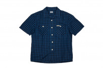 Flat Head Weezy Breezy Shirt - Indigo Linen/Cotton - Image 2