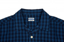 Flat Head Weezy Breezy Shirt - Indigo Linen/Cotton - Image 3