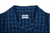 Flat Head Weezy Breezy Shirt - Indigo Linen/Cotton - Image 4