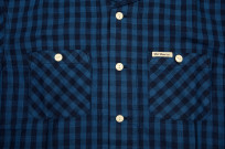 Flat Head Weezy Breezy Shirt - Indigo Linen/Cotton - Image 5