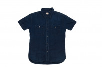 Flat Head Glory Park Indigo-Dyed Linen Short Sleeve - Image 9