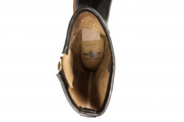 Flat Head Goodyear Welted Engineer Boots - Black Chromexcel - Image 4