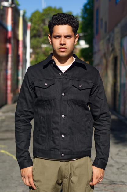 3sixteen Type III Jacket - Double Black Lightweight