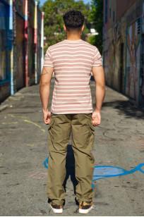 Stevenson Recon Fatigue Trousers - New Slub Olive - Image 1
