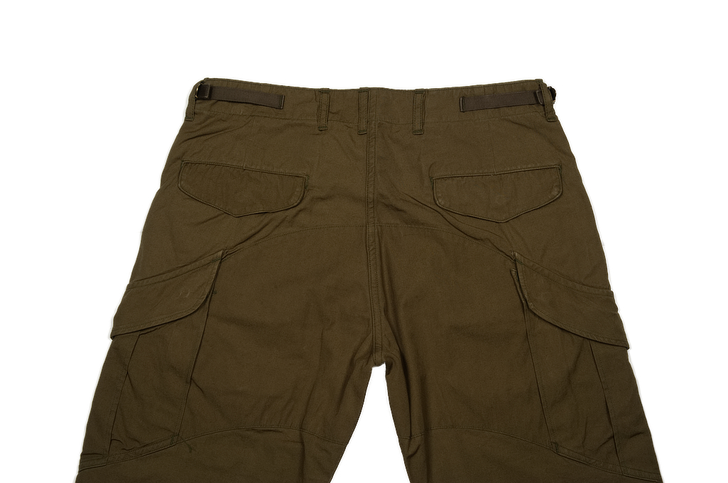 Stevenson Recon Fatigue Trousers - New Slub Olive - Image 3