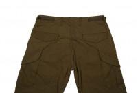 Stevenson Recon Fatigue Trousers - New Slub Olive - Image 3