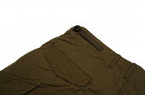 Stevenson Recon Fatigue Trousers - New Slub Olive - Image 4