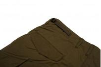 Stevenson Recon Fatigue Trousers - New Slub Olive - Image 4