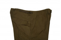 Stevenson Recon Fatigue Trousers - New Slub Olive - Image 5