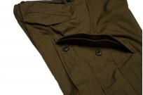 Stevenson Recon Fatigue Trousers - New Slub Olive - Image 7