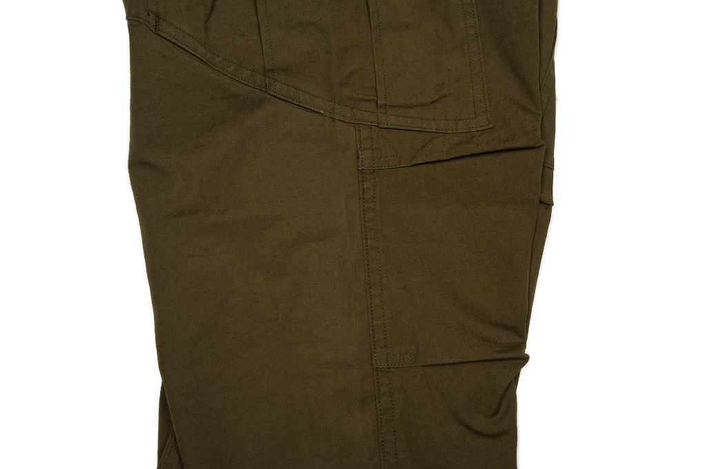 Stevenson Recon Fatigue Trousers - New Slub Olive - Image 8