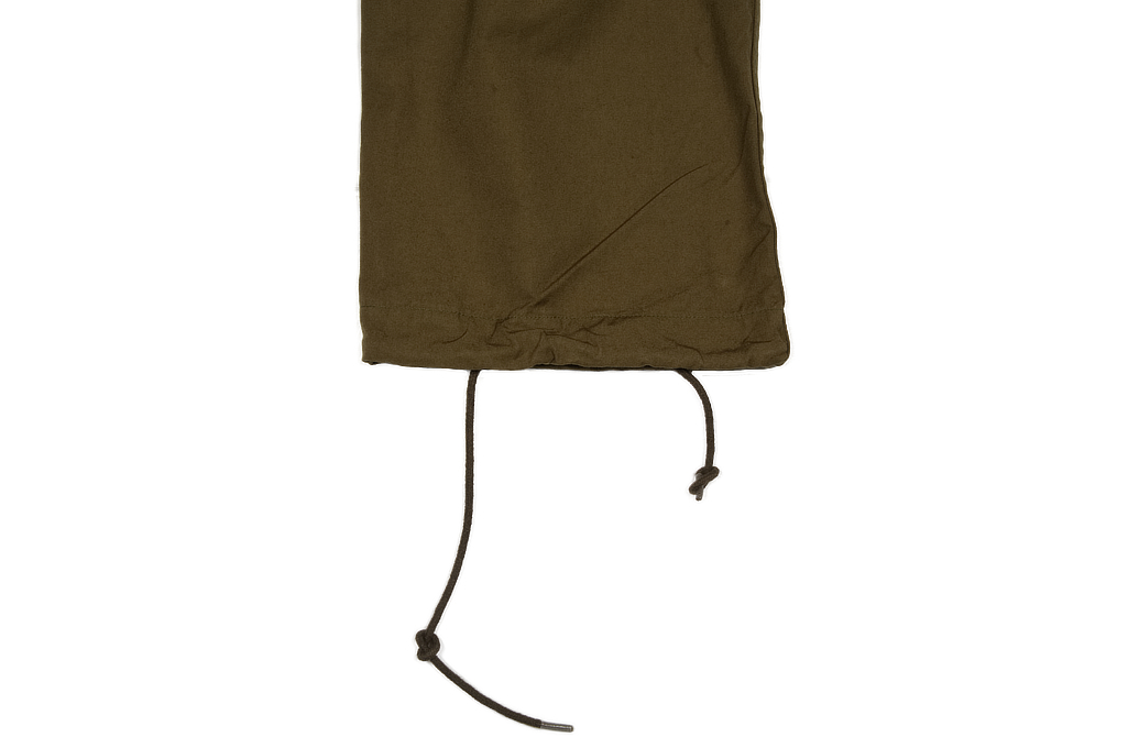 Stevenson Recon Fatigue Trousers - New Slub Olive - Image 9