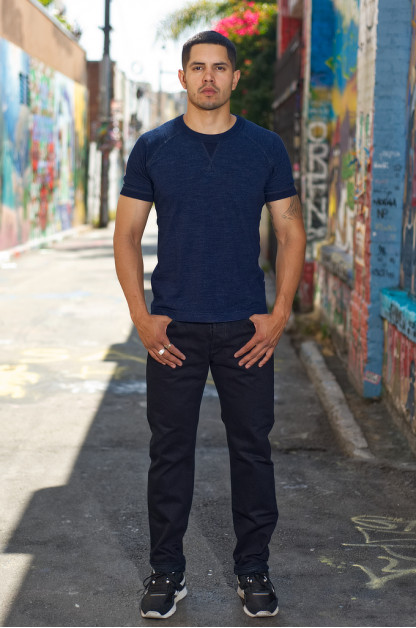 Iron Heart 777s-142OD Jeans - Slim Tapered 14oz Overdyed