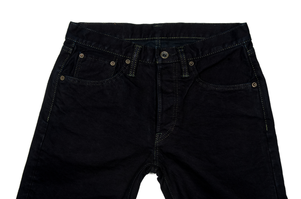 Iron Heart 777s-142OD Jeans - Slim Tapered 14oz Overdyed - Image 3