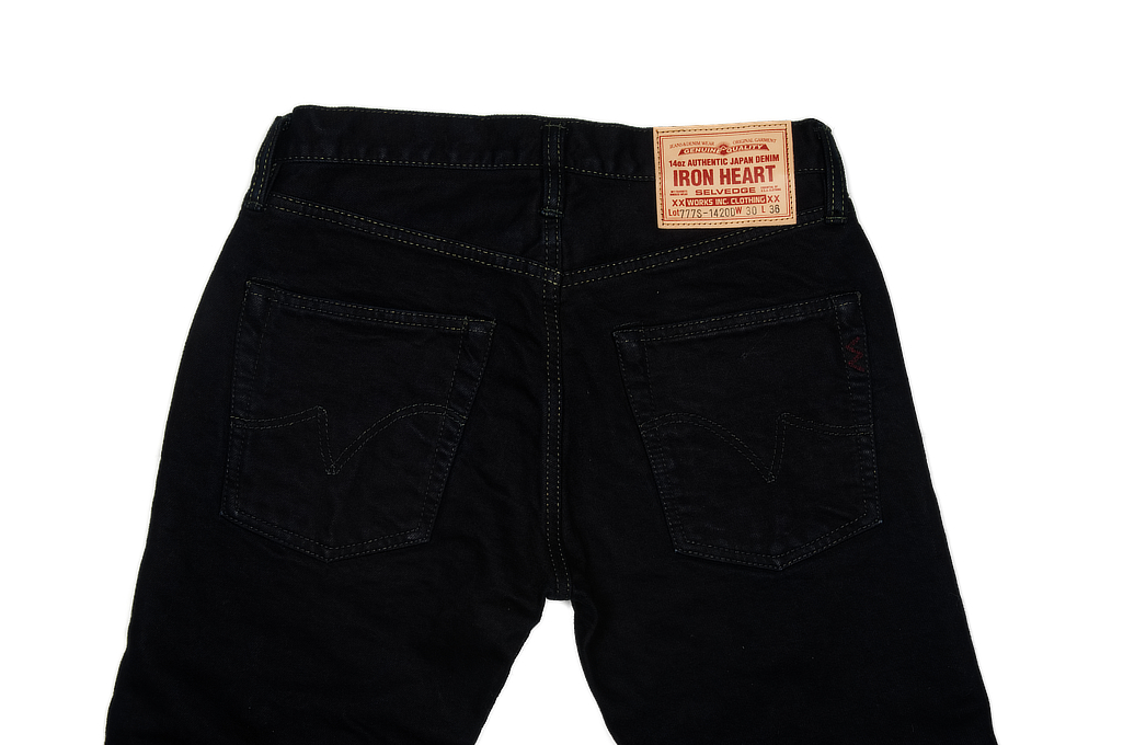 Iron Heart 777s-142OD Jeans - Slim Tapered 14oz Overdyed - Image 5