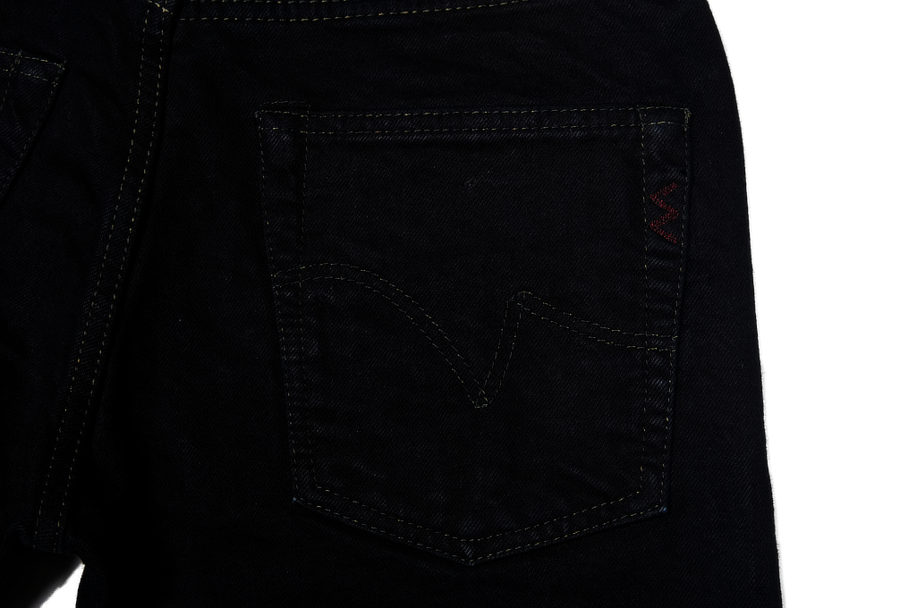 Iron Heart 777s-142OD Jeans - Slim Tapered 14oz Overdyed - Image 6