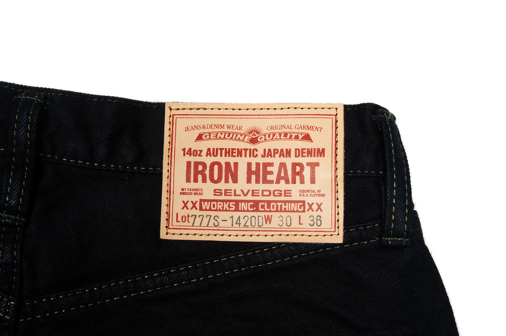 Iron Heart 777s-142OD Jeans - Slim Tapered 14oz Overdyed - Image 7