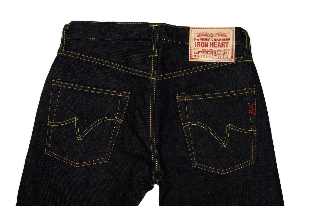 Iron Heart 777s-142 Jeans - Slim Tapered 14oz Denim - Image 5