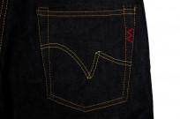 Iron Heart 777s-142 Jeans - Slim Tapered 14oz Denim - Image 6