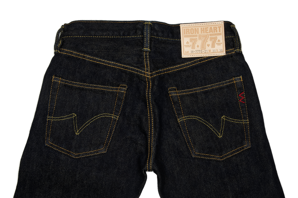 Iron Heart 777s Jeans - Slim Tapered 21oz - Image 5