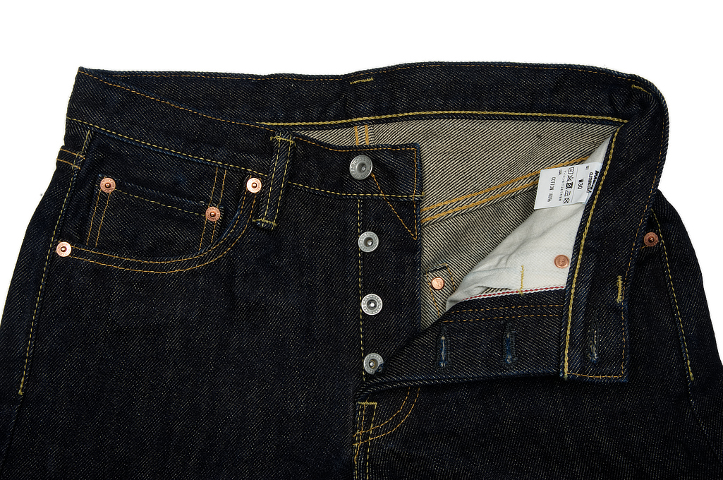 Iron Heart 777s Jeans - Slim Tapered 21oz - Image 9