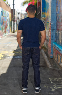 Pure Blue Japan NP-019 17oz Nep Denim Jeans - Straight Tapered - Image 1