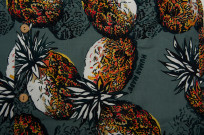 Human Made Cotton Button'd Shirt - Pineapple Moments - Image 6