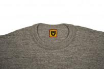 Human Made Slub Cotton T-Shirt - Pocket Peek / Gray - Image 1
