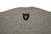 Human Made Slub Cotton T-Shirt - Pocket Peek / Gray - Image 3